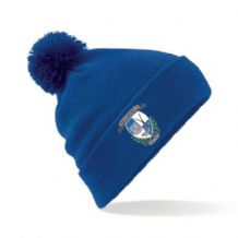 Ballynahinch Hockey Club Bobble Hat Royal Blue - 2018